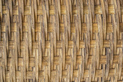 Woven rattan with natural patterns. Wicker basket woven by hand using natural materials in the countryside.hand made royalty free stock photography