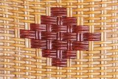 Woven rattan Royalty Free Stock Image