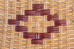 Woven rattan Royalty Free Stock Images