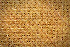 Woven rattan pattern Royalty Free Stock Photo