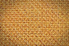 Woven rattan pattern Stock Photo