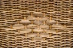 Woven rattan patterns Royalty Free Stock Photos