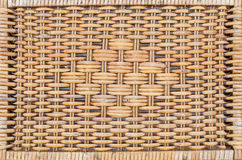 Woven rattan patterns Stock Image