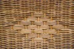 Woven rattan patterns Royalty Free Stock Photos