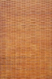 Woven rattan texture Royalty Free Stock Photography