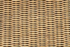 Woven rattan texture backgrounds Stock Photography