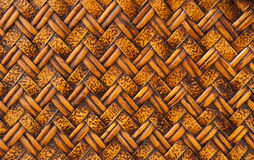 Woven Rattan Royalty Free Stock Image