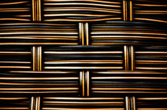 Woven  rattan texture Royalty Free Stock Image