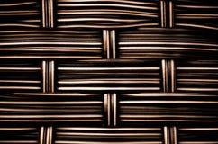 Woven  rattan texture Stock Photos