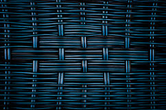 Woven rattan texture Royalty Free Stock Photos