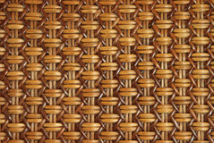 Woven Rattan With Natural Patterns Royalty Free Stock Images