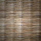 Woven reed pattern. Woven reed texture Royalty Free Stock Photos