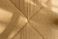 Woven rope from paper recycled. Stock Images