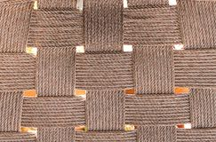 Woven rope for pattern Stock Photo