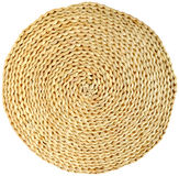 Woven round hand made Royalty Free Stock Images