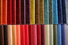Woven Samples Royalty Free Stock Image