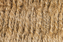 Woven sisal_horizontal Stock Image