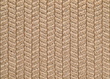 Woven Sisal & Wool Rug Background Stock Photos
