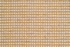 Woven Sisal & Wool Rug Background Stock Images