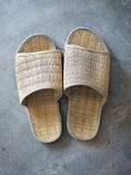 Woven slippers Stock Photos