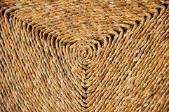 Woven spiral. Triangle Seat Cushion Royalty Free Stock Image