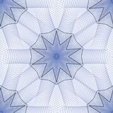 Woven Star Abstract. Seamless tile, woven star design  - fractal abstract background Royalty Free Stock Photos