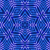 Woven star shine Stock Image