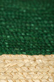 Woven straw background Stock Photography