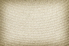 Woven straw background or texture.  royalty free stock photography