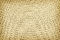 Woven straw background or texture Stock Image