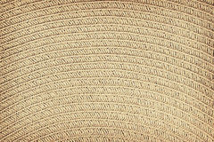 Woven straw background or texture.  stock photography