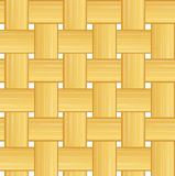 Woven straw seamless background Stock Image