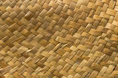 Woven straw texture. For background. Wooven pattern royalty free stock photos