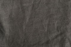 Woven Textile Background Texture. Brown fabric with coarse weave for background Stock Photo