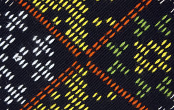 Woven textile pattern. And texture Stock Images
