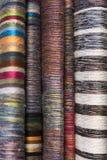 Woven textiles Royalty Free Stock Photos