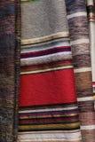 Woven textiles Stock Image