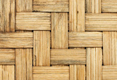 Woven texture. Yellow woven texture for background stock photo