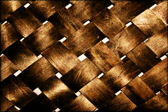 Woven Texture. Woven or weaved texture with old photo effect applied, brown or sepia stock photography