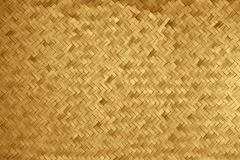 Woven texture of a bamboo basket made of straws vector illustration