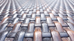 Woven Texture. Woven detail of textile texture Stock Photo