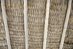 Woven Textured Natural Fibre Background Stock Photography