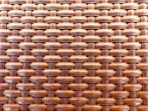 woven textured pattern with brown threads Stock Image