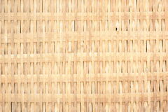 Woven wall. Light yellow woven fabric used as wall Royalty Free Stock Photography