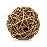 Woven wicker Stock Image