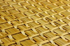 Woven wicker background Royalty Free Stock Image