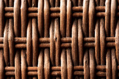 Woven Wicker Background Royalty Free Stock Photo
