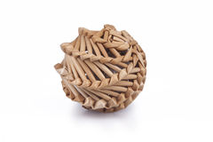 Woven Wicker Ball Stock Images