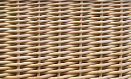 Woven wicker basket background Royalty Free Stock Images