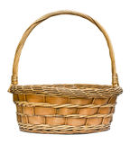 Woven wicker basket. Stock Images